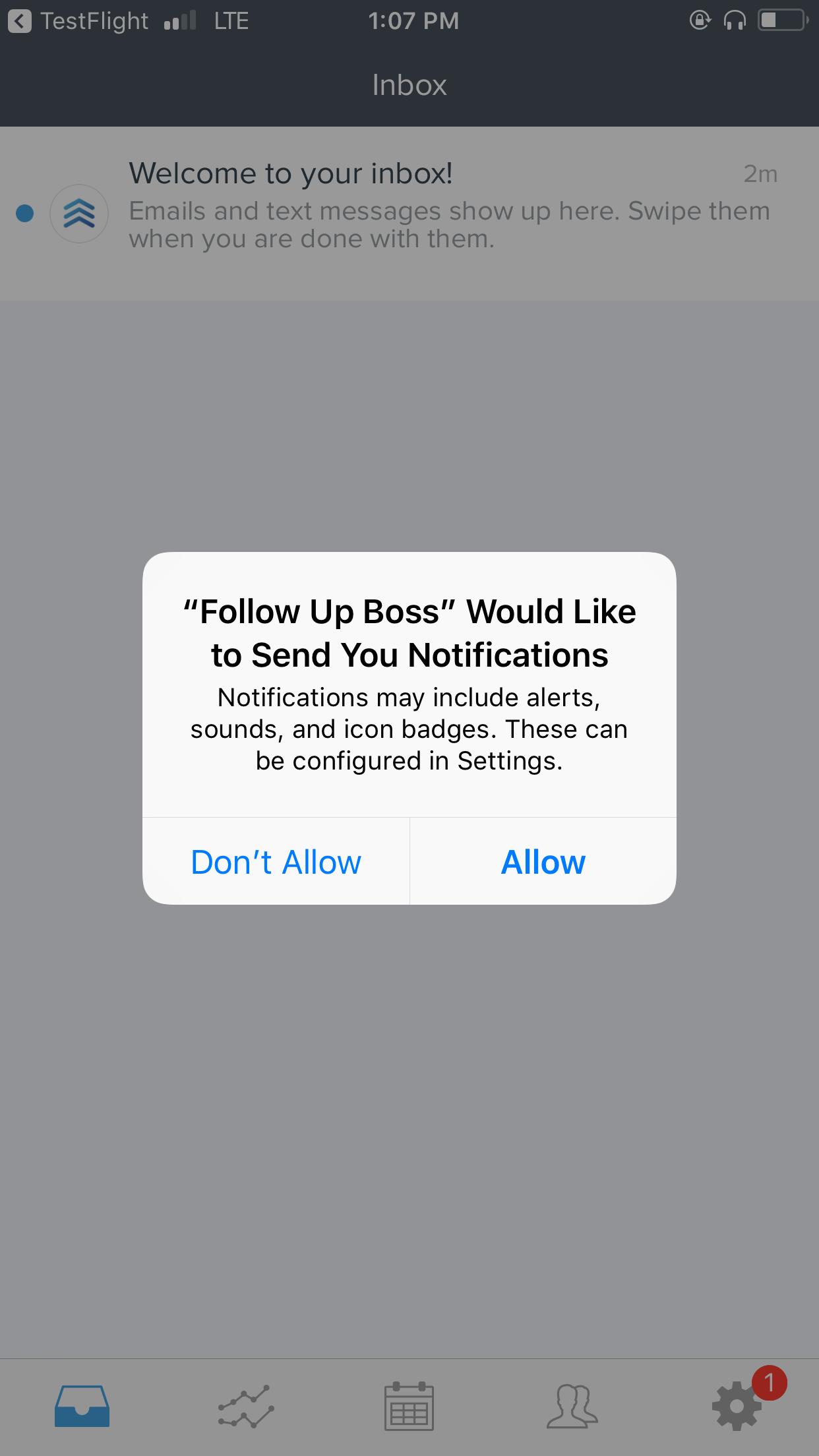 Push Notifications (Mobile) – Follow Up Boss